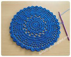 Heklanje plus: Moj rad 235 - Plavi motiv