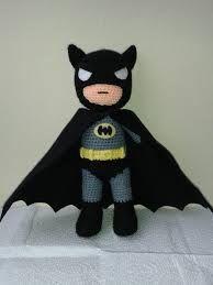 Batman amigurumi patron gratis