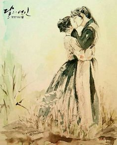 Scarlet Heart Ryeo k- drama #art (http://aminoapps.com/page/k-drama/9345250/scarlet-heart-moonlovers-top-12-beautiful-and-creative-fanarts )