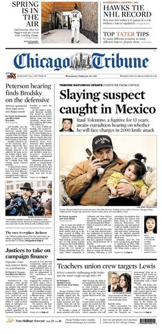 Feb. 20, 2013: How about those Blackhawks? Hot, hot, hot. Plus, a big hearing in the Drew Peterson case today and Jesse Jackson Jr. to plead guilty.
