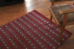"Woollen rug ""Unwritten Poem of Winter"" - Terra Mama Hand Weaving, Poems, Stripes, Textiles, Wool, Denim, Rugs, Winter, Home Decor"