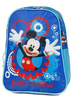 Sac à dos Disney Mickey 25 cm Bleu Mickey