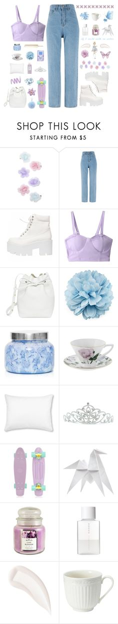 """""""Princess Without Gown"""" by kwonrena ❤ liked on Polyvore featuring Monsoon, Mansur Gavriel, Retrò, Gucci, Capri Blue, Ted Baker, L.L.Bean, Kate Marie, Disney and Hermès"""