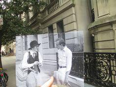 El fotógrafo canadiense Christopher Moloney ha capturado para su proyecto FILMographys los lugares precisos donde se filmaron conocidas escenas de algunas películas entrañables. - Annie Hall, 1977.