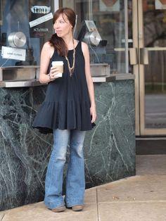 0ec569e9589c Shop Your Closet  Wear a Dress With Pants Modest Pants