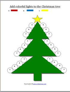 Christmas worksheets for preschoolers...looks like a neat site all around...