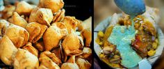 #Samosa in streets of #Varanasi The most famous Indian spicy snack, but tastes best in Banaras! A triangular shaped snack made with refined flour and filled with spicy mashed potatoes. Try it out solo, with chutney or along with chhole (cooked spicy chickpeas). #Street #Food #India #ekPlate #ekplatesamosa