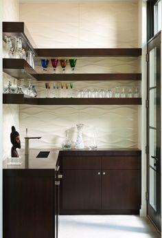 mini kitchen bar design. Sleek wet bar design with open shelving  Tatum Brown Custom Homes Kitchen Mini Dry Bar Ideas Small Wet Design Pictures