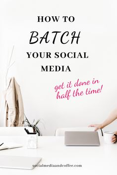 Batching tasks always feels amazing! You spend half of the time, and get a whole lot more done. Here's how to batch your social media posts for your business. Social Media marketing | online business | blog | blogging | Facebook marketing | Instagram marketing | Twitter | entrepreneur | small business marketing | social media tips | marketing ideas | #onlinebusiness #socialmedia #Facebook #Instagram #Twitter #marketing #prodictivity #smallbusiness #entrepreneur