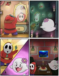 A Mushroom Kingdom Date [hahaha this is too cute]
