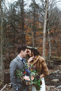 Earthy Winter Wedding at Full Moon Resort