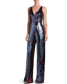 Main Image - Dress the Population Charlie Sequin Jumpsuit Disco Jumpsuit, Sparkly Jumpsuit, Sequin Jumpsuit, Sequin Dress, Dress The Population, Formal Dresses For Women, Overall, Dance Outfits, Party Fashion