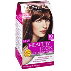 L'Oreal Paris Healthy Look Cherry Praline 6RB Light Auburn Brown Creme Gloss Color *** Learn more by visiting the image link. (This is an affiliate link and I receive a commission for the sales)