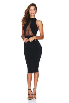 f1129d5923f Nookie Black The Eclipse Halter Dress on sale now with Free Express  Shipping Australia wide   14 day returns. Nookie black the eclipse halter  dress the.