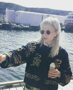 AURORA (Aurora Aksnes) Visit AURORA's Twitter @AURORAmusic for her latest tweets. Visit https://iconiclight.wordpress.com/category/aurora for articles, photos, and more!