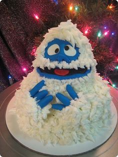 Bumble Cake ~ from Rudolph the Red-Nosed Reindeer