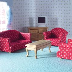 Sitting Room Set from The Dolls House Emporium