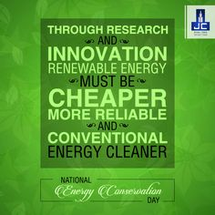 Cherish these natural resources, wonders that have been gifted to us. Energy conservation is the foundation of energy independence. So protect these gifts to keep them alive. Happy Energy Conservation Day.
