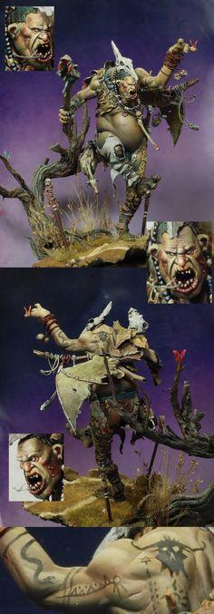 SPAIN 2011 Madrid - Warhammer Large Model - Demon Winner, the unofficial Golden Demon website