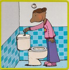 stappenplan toilet