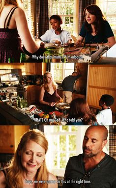 Why does that matter. I'm adopted ~ Easy A (2010) ~ Movie Quotes