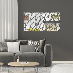 Zrkadlo do chodby v tvare kôry stromu Korat, Ceiling Lights, Throw Pillows, Bed, Home Decor, Cushions, Homemade Home Decor, Stream Bed, Ceiling Light Fixtures