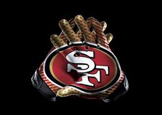 e81be3884 San Francisco 49ers, Glove, Banner, Nfl, Ebay, National Football League,  Banners, Nfl Football, Picture Banner