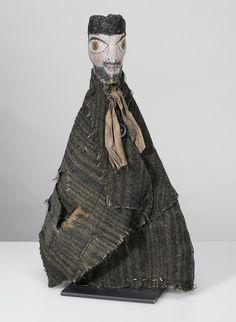 Кукла из домашнего театра Пауля Клее. Автопортрет.