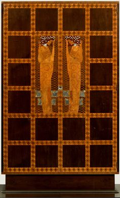 Inlaid Armoire from the Eisler-Terramare Apartment Bedroom, 1903, Leopold Museum Koloman Moser