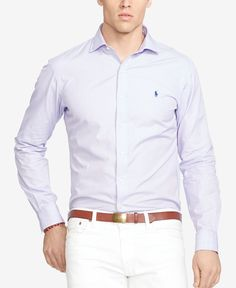 Polo Ralph Lauren Shirt with Gingham Check Slim Fit | mens shirt ...