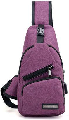 Sew Bags, Purple Bags, Travel Bags, Sling Backpack, Crossbody Bag, Backpacks, Purses, Wallet, Amazon