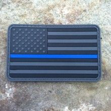 Local Heroes Flag PVC Morale Patch - Last Ditch Effort Gear $8