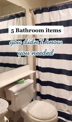 Apartment Must Haves, Apartment Makeover, Bathroom Organisation, Bathroom Storage, Amazon Hacks, Amazon Gadgets, Best Amazon Buys, Amazon Products, Bathroom Hacks