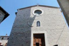 Chiesa di Santa Maria Assunta, Corciano (PG) ITALIA.