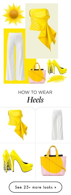 """Bring in the sunshine"" by barebear1965 on Polyvore featuring Diane Von Furstenberg, Rubin Singer, Pierre Hardy and TaylorSays How To Wear Heels, Pierre Hardy, Diane Von Furstenberg, Spring Fashion, Sunshine, Bring It On, Singer, Cute, Polyvore"