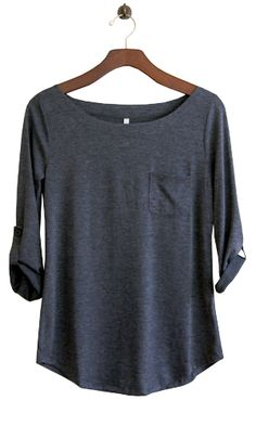 Perfect Everyday Shirt, Charcoal