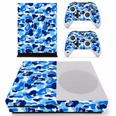 Share with someone who would love this! :)  http://www.hellodefiance.com/products/blue-camo-skin-xbox-one-slim-protector?utm_campaign=social_autopilot&utm_source=pin&utm_medium=pin