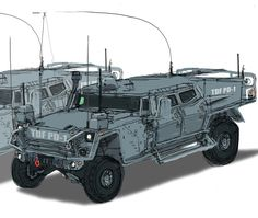 Army Vehicles, Armored Vehicles, Offroad, Tank Armor, Future Trucks, Jeep 4x4, Car Drawings, Toy Hauler, Military Equipment