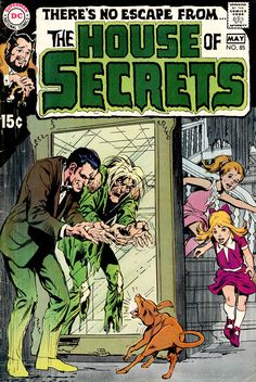 House Of Secrets 85, May 1970, cover by Neal Adams