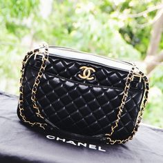 Chanel Misia Camera Bag | https://instagram.com/quennandher/
