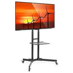 Mount Factory Rolling TV Stand Mobile TV Cart for 32-65 i... https://www.amazon.com/dp/B017XXYLNS/ref=cm_sw_r_pi_dp_Bj8AxbCVPNBA3