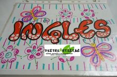 CLASES PARA NIÑ@S EN VACACIONES EN DISTRIARTISTAS BUCARAMANGA - Bucaramanga School Notebooks, Cute Notebooks, Creative Lettering, Lettering Styles, Front Page Design, Caligraphy Alphabet, Signo Libra, Notebook Art, Letters And Numbers
