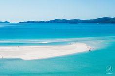 Австралия. Вид на пляж Уайтхэвен