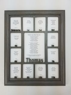 school years picture frame personalized picture frame with any name charcoal gray frame and insert school year frame school photo frame