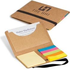 Business Card Promotional Notes & Logo Flags Pack