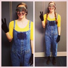 Pin for Later: 47 Last-Minute Costume Ideas That Are Completely Office Appropriate A Minion What You'll Need: A yellow shirt, dungarees, and a pair of skiing goggles. It doesn't get any easier!