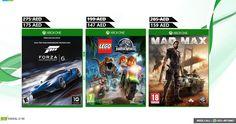 "--- To Place The Order Comment Your Number Below --- ل وضع النظام تعليق رقم هاتفك أدناه   SPECIAL OFFER XBOX GAMES  --Xbox One Forza Motorsport 6 -R1 -175AED -- LEGO JURASSIC WORLD (XBOX ONE)- 147AED -- Mad Max by Warner Bros. Interactive - Xbox One-159AED  Call us on 04-2557761 / Miss Call to 055-4974967 to place order Now English Hindi Malayalam Customer Support  #uae #dubai #d2deal #Ajman #Sharjah #mydubai #mydxb #mysharjah #myabudhabi #myrak #myajman #myuae #fujairah #FF #DXB"" by…"