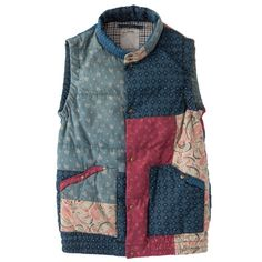 Patchwork style gilet | Body warmer / Layering / Rugged Never Smooth