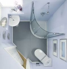 What's the difference between designing a basement bathroom vs. any other bathroom? Check out the latest basement bathroom ideas today! Basement bathroom, Basement bathroom ideas and Small bathroom. Very Small Bathroom, Tiny Bathrooms, Tiny House Bathroom, Bathroom Design Small, Bathroom Layout, Bathroom Designs, Modern Bathrooms, Compact Bathroom, Bathroom Sinks