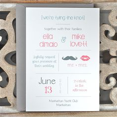 Wedding Invitations . Wedding Invites . by SweetBellaStationery, $2.50